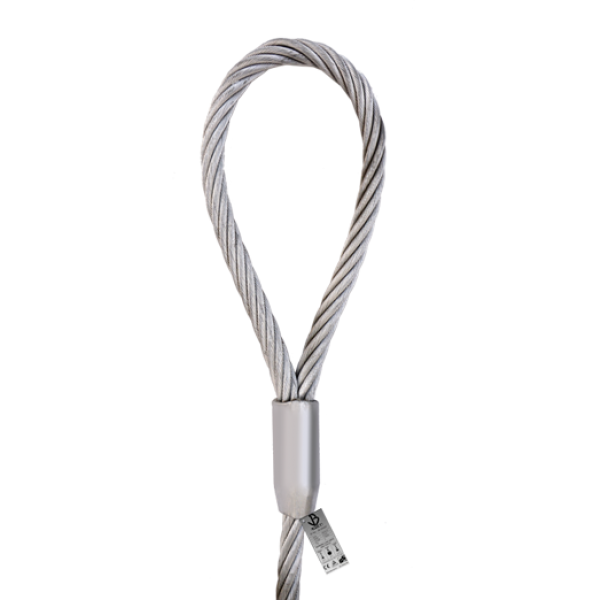 1 SIDE SOFT EYE STEEL WIRE ROPE SLING