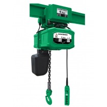ELECTRIC CHAIN HOIST BLOCK WITH TROLLEY
