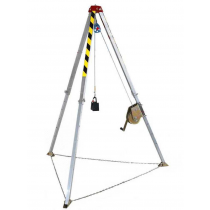 INDUSTRIAL SAFETY CONFINED SPACE RESCUE TRIPOD, FALL PROTECTION, HEIGHT SAFETY