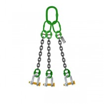 3 LEG CHAIN SLING WITH SHACKLE