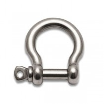 STAINLESS STEEL BOW TYPE SHACKLE SCREW PIN